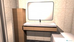room planning bad entwurf 2 in the category Bathroom