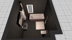 room planning bad unten, Variante 2 in the category Bathroom