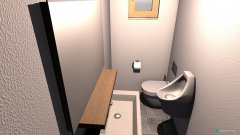 room planning Gäste WC in the category Bathroom