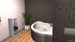 room planning Grundrissvorlage L-Form in the category Bathroom