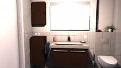 room planning Hauptbad_FINAL_2014-09_SD+RTFhöher+Spiegel84,5 in the category Bathroom