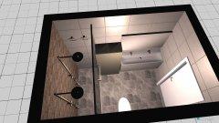 room planning kliene badkamer in the category Bathroom