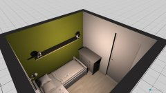 room planning COJA'S ROOM in the category Bedroom