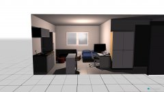 room planning Cuarto 2 in the category Bedroom