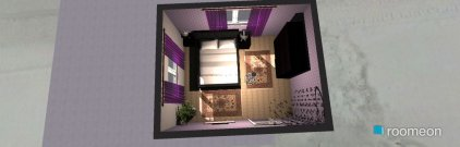 room planning DESIGN 1 in the category Bedroom