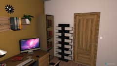 room planning detská izba luxusný rodinný dom in the category Bedroom