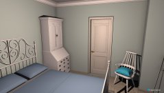 room planning Gästezimmer (mit Kommode statt Kleiderschrank) in the category Bedroom