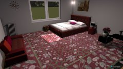 room planning Grundrissvorlage Quadrat in the category Bedroom