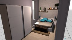 room planning habitacion in the category Bedroom