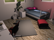 room planning Jessis Zimmer ca. 1 in the category Bedroom