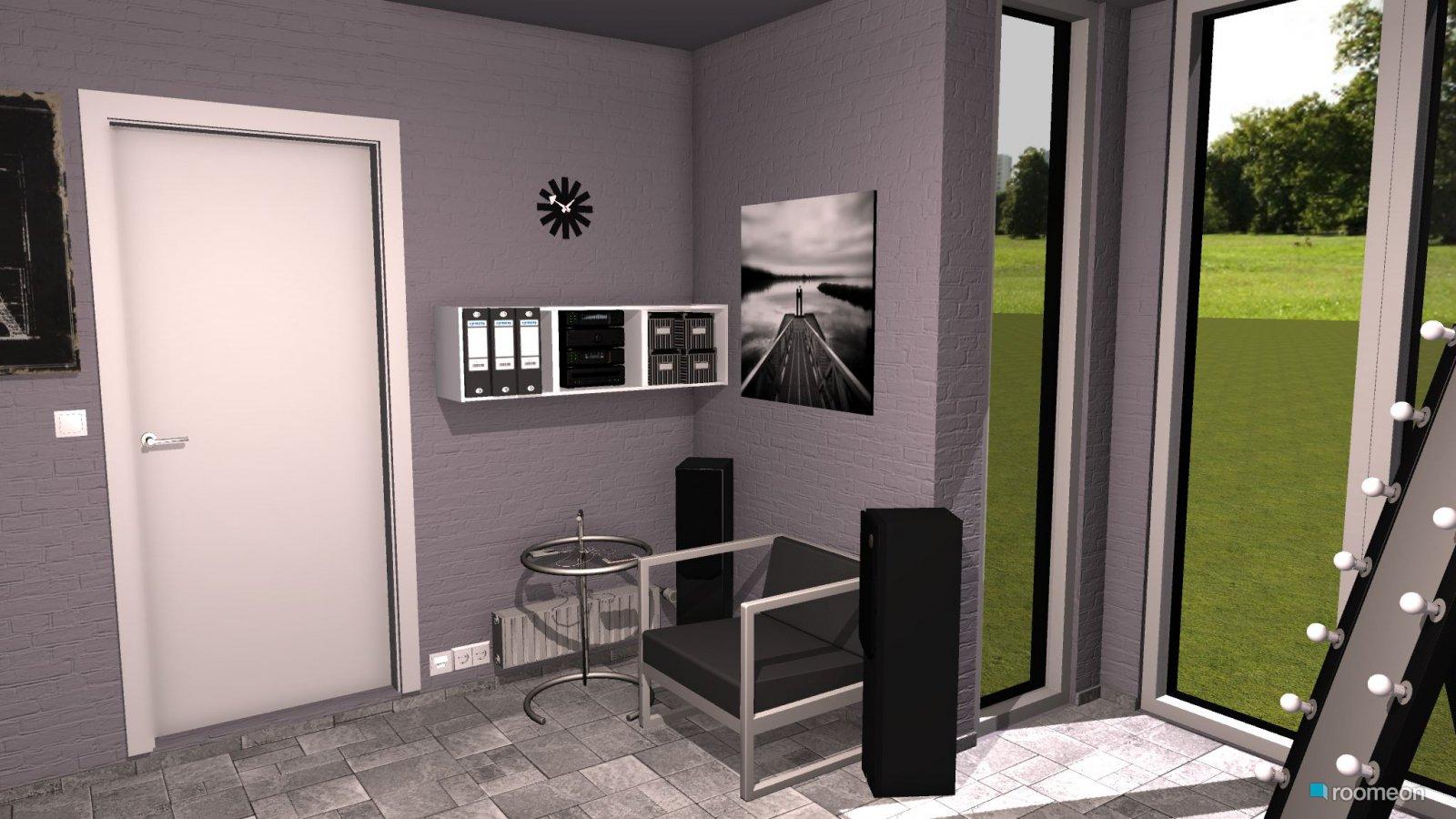 Room Design Jugendzimmer modern schwarz weiß - roomeon Community