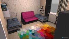 room planning lányok szobája in the category Bedroom