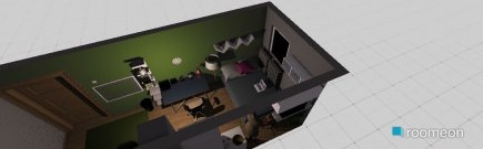 room planning Lenina soba in the category Bedroom