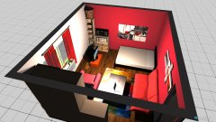 room planning Marcs Zimmer Idee 1 in the category Bedroom