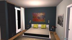 room planning MasterBedroom in the category Bedroom