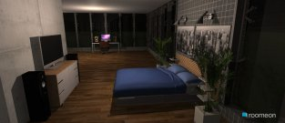 room planning Modern One Room House in the category Bedroom