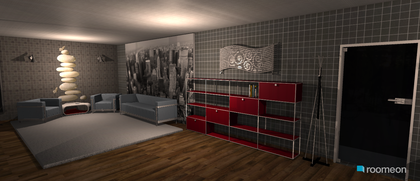 ... Room Planning Modern One Room House In The Category Bedroom ...