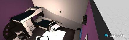 room planning Piezita de atras. in the category Bedroom