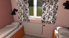 room planning Pokój dzieci (projekt) in the category Bedroom