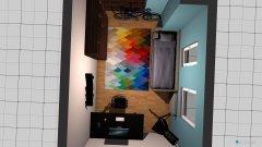 room planning pokoj Damiana in the category Bedroom