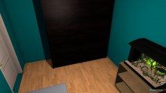 room planning POKOJ NR 1 in the category Bedroom
