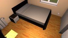 room planning pokoj sypialnia 3 in the category Bedroom