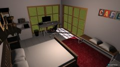 room planning Schlaf und Arbeitszimmer in the category Bedroom