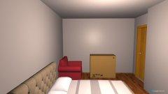 room planning Schlaf- und Arbeitszimmer_Freistädter Straße 77 in 4040 Linz in the category Bedroom