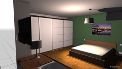 room planning Schlafzimmer mit Wanne in the category Bedroom
