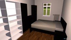 room planning Schlafzimmer und Bibliothek 2 in the category Bedroom