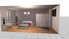 room planning Schlafzimmer Variante 2 in the category Bedroom