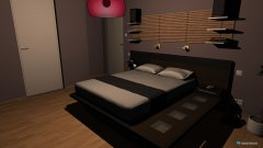room planning sypialnia_helios in the category Bedroom
