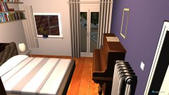 room planning SZ Balkon01 in the category Bedroom