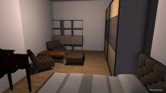 room planning tiff´s sleep & living room  in the category Bedroom