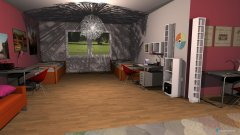 room planning yurt :D in the category Bedroom