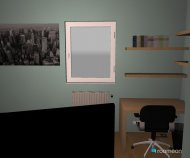 Malm bed frame 140x200cm design and decorate your room in 3d for 3d zimmer planner