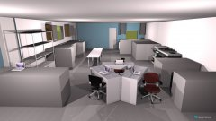 room planning THINK OFFICE Production layout. in the category Conference Room