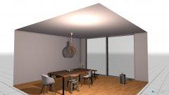 room planning Grundrissvorlage Quadrat in the category Dining Room