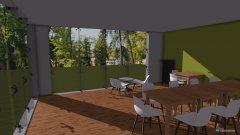 room planning 5.OG Allraum - Tischvariation in the category Family Room