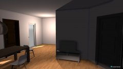 room planning Grundrissvorlage L-Form in the category Family Room