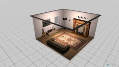 room planning Grundrissvorlage Quadrat in the category Family Room