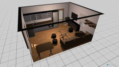 room planning kuchnia i salon in the category Family Room