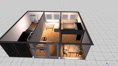 room planning Garage 3 Raum mit Balkon in the category Garage