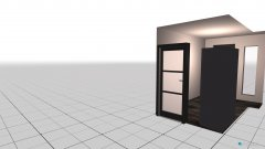 room planning Flur EG Eder in the category Hallway