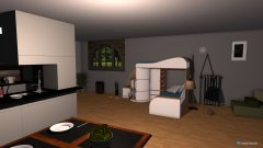 room planning Alessandros Zimmer in the category Home Office