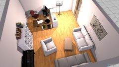 room planning Arbeitszimmer1_Dorotheen Strasse in the category Home Office