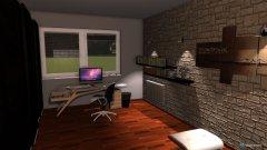 room planning Byt detská izba in the category Home Office