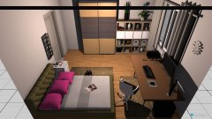 room planning Chrisis Wohnung in the category Home Office