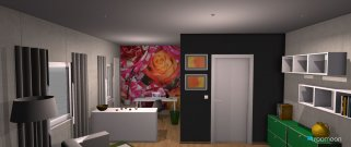 room planning Grundrissvorlage L-Form in the category Home Office
