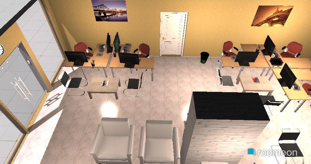 room design ofis kroki roomeon community. Black Bedroom Furniture Sets. Home Design Ideas